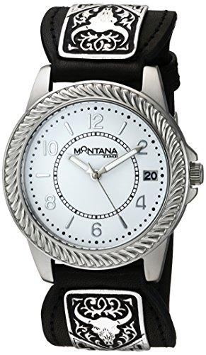 Montana Silversmiths Men's 'Montana Time' Quartz Stainles...