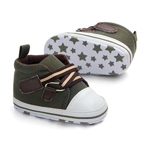 ... Prevently Baby Kleinkind Schuhe Baby-Leinen-Soft-Sohle Kleinkind Schuhe  Neugeborenes Baby Kinder ...