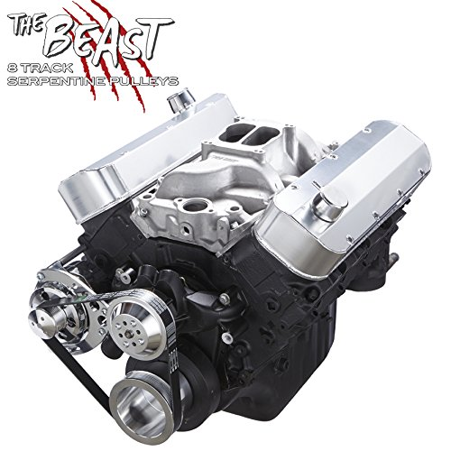 Chevy Big Bock Serpentine Kit - Alternator Only Applications