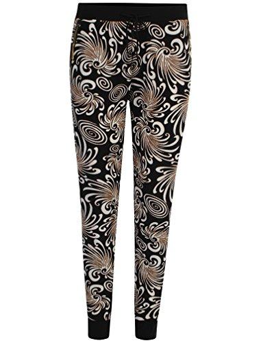 Get The Trend - Pantalón - Pantalones - para mujer BLACK SWIRLS