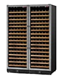 Allavino MWR-2X1681-SS 340 Bottle Stainless Steel Door Dual Zone Wine Cellar
