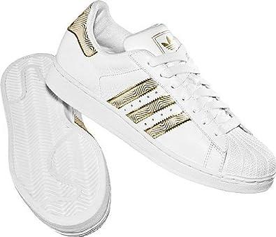 4f5d6918ad Adidas Superstar II 663731 weiß/gold Größe 46: Amazon.de: Schuhe ...