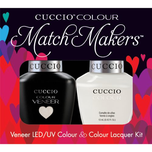 Cuccio Veneer and Colour Matchmaker Nail Polish, Tahitian (Tahitian Mask)