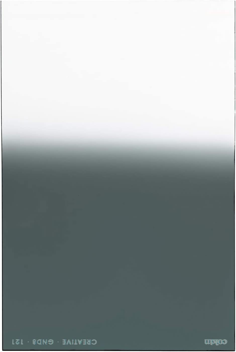 Series Holder Z121 100mm X 150mm Cokin Square Graduated Neutral Density Grey G2 Z ND8 3-Stops Hard for L