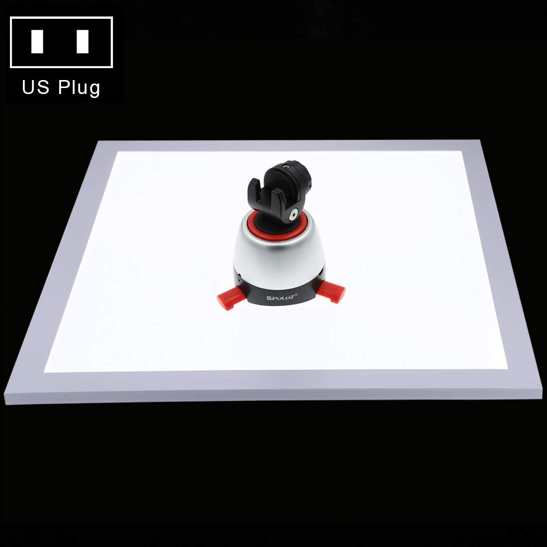 34.7cm x 34.7cm Effective Area Durable Acrylic Material Color : Color2 CAOMING 1200LM LED Photography Shadowless Light Lamp Panel Pad with Switch No Polar Dimming Light
