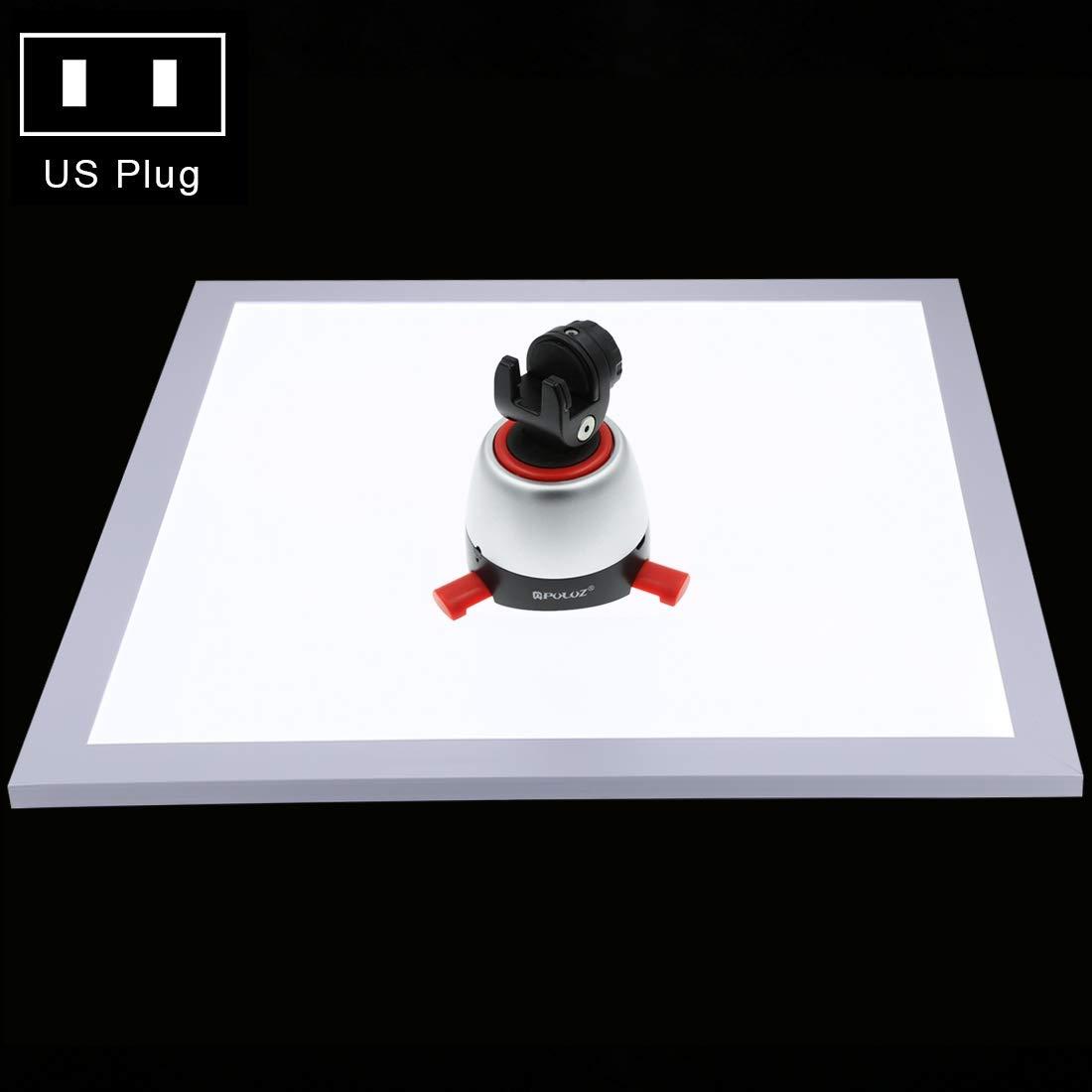 KANEED LED ビデオライト PULUZ 1200LM LED写真シャドウレスライトランプパネルパッド、アクリル素材、ポーラー調光なし、34.7cm x 34.7cm有効エリア 撮影用定常光ライト   B07QMS4JC3