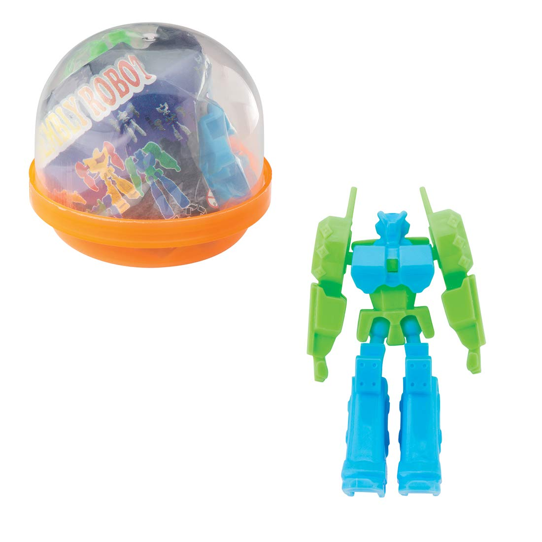 SmileMakers Make Your Own Robots in 2'' Capsules - Prizes 250 per Pack by SmileMakers (Image #1)