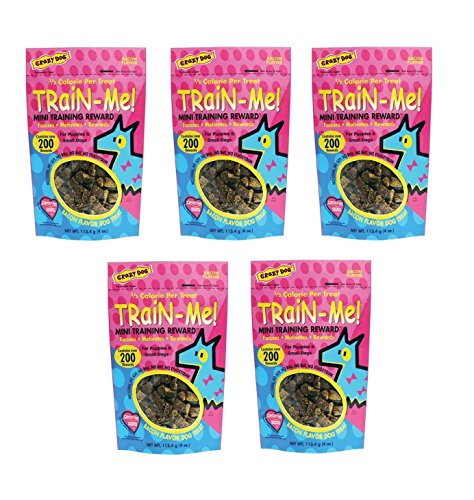 Dog Training Mini Treat Pack Bacon Flavor Rewards For Puppies Small Breed Dogs (Five Packs) For Sale