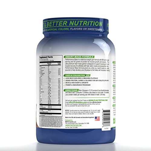 Performance Inspired Nutrition Mass Gainer
