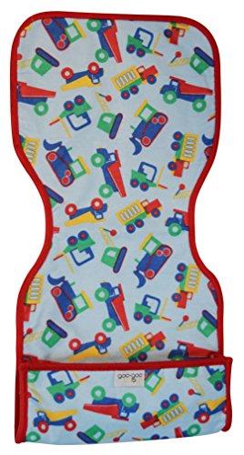 Goo-Goo Baby Miracle Burp Pad, Blue/Red/Green