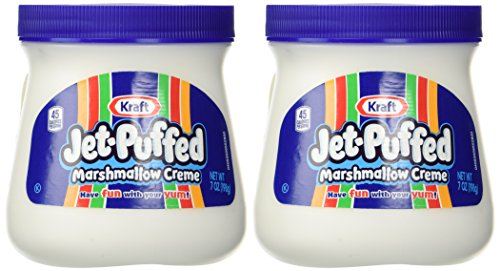 Kraft Jet Puffed Marshmallow Creme Spread, 7oz (Pack of - Cream Marshmallow