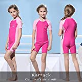 Karrack Girls and Boys One Piece Rash Guard