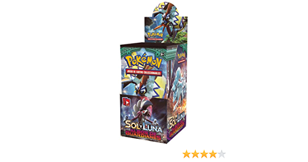 The Pokémon Company Caja de 18 sobres de: Sol y Luna: Albor de Guardianes Sobre - Español POSMGR02D: Amazon.es: Juguetes y juegos