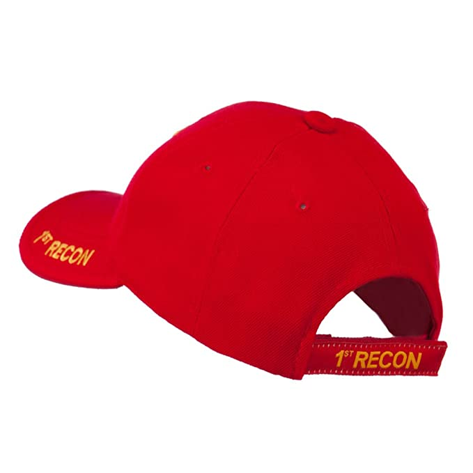 238365e8e15 Military Cap-First Recon at Amazon Men s Clothing store  Baseball Caps
