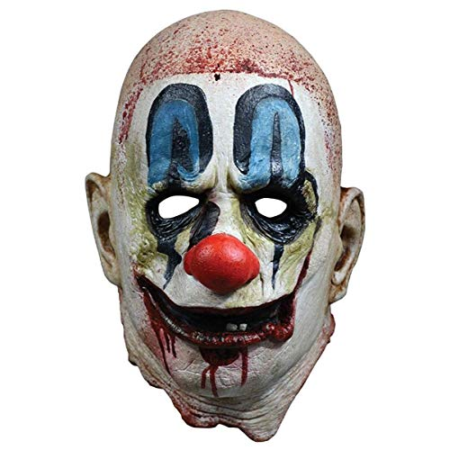 Loftus International Rob Zombie 31 Poster Mask Full Head Mask White Red Blue One-Size Novelty -