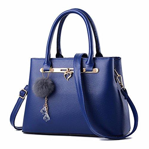 Minimaliste de GQFGYYL Sac la Sac Sac épaule à Mode Main Dame blue de FFE8Rw