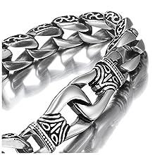 Amazing Stainless Steel Men's link Bracelet