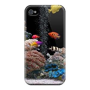 Tpu MeSusges Shockproof Scratcheproof Aquarium Hard Case Cover For Iphone 4/4s by icecream design