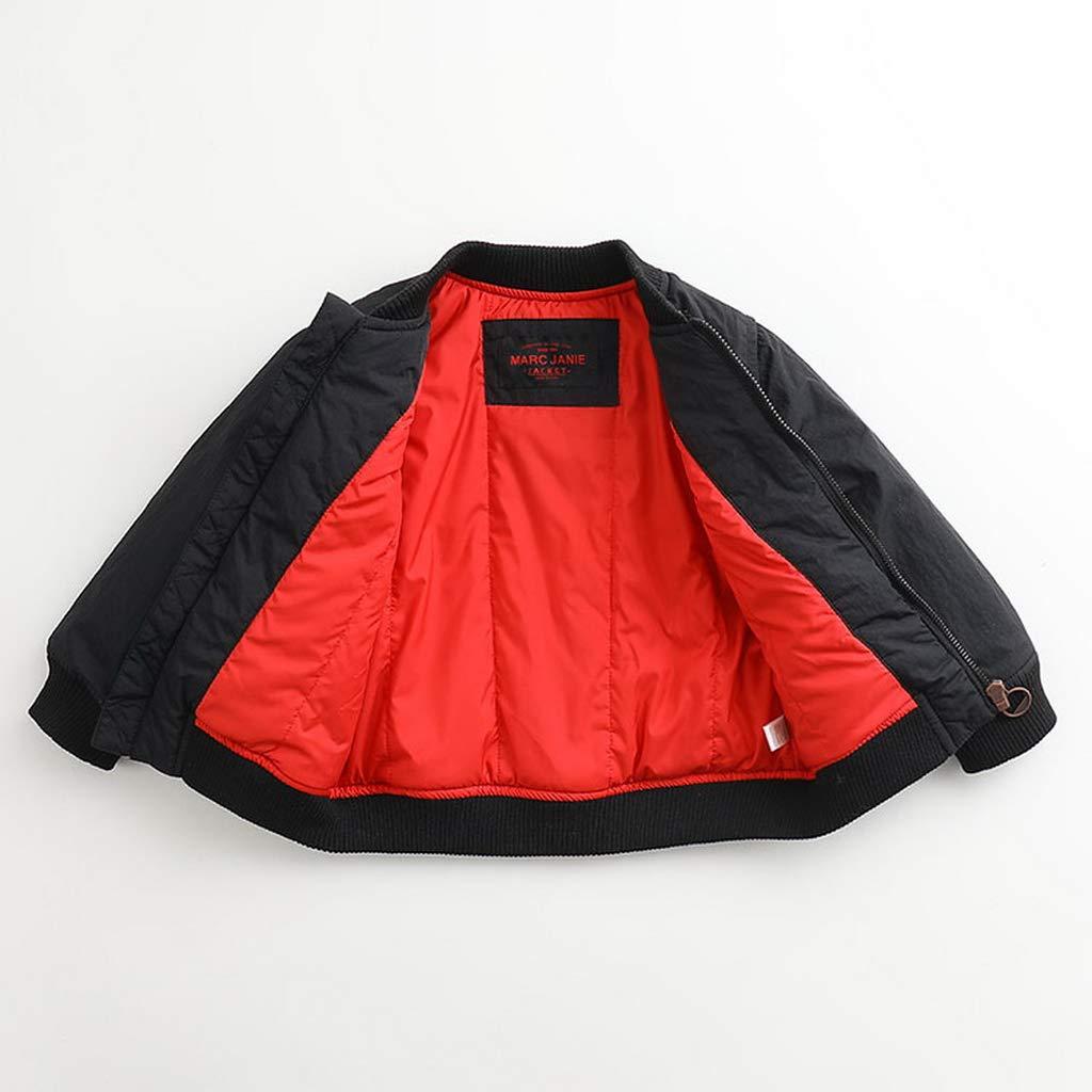 marc janie Little Boys Winter Fashion Baseball Jacket