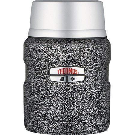 steel vacuumware king food jar