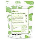 Green Gunpowder Tea, Hand Rolled Whole Leaf. (3 Oz = 40 Cups)