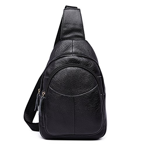 Package Laidaye Leisure Black Chest Bag Fashion Travel purpose Oblique Casual Multi Shoulder Backpack Business vxqvrHAw