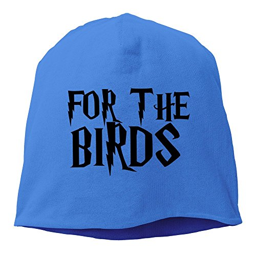 Sports Ventilated For The Birds Skull Beanie Cap RoyalBlue]()