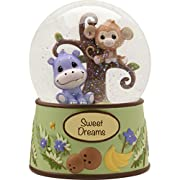 Precious Moments Precious Paws Sweet Dreams Snow Globe Resin 163105