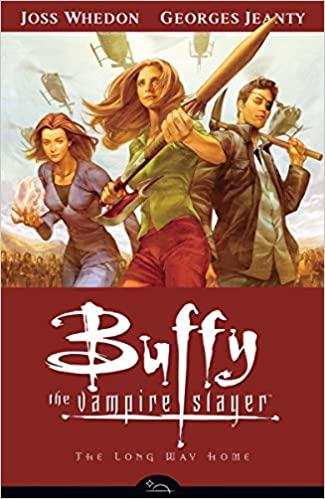 Image result for buffy season 8 volume 1 the long way home