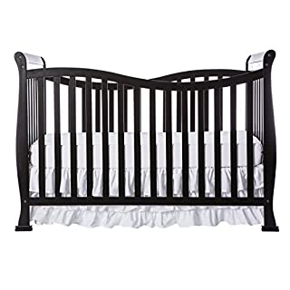 Dream On Me Violet 7 in 1 Convertible Life Style Crib, Black