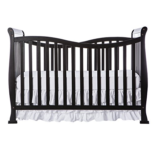 Dream On Me Violet 7 in 1 Convertible Life Style Crib, Black by Dream On Me