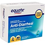 Equate – Anti-Diarrheal, Loperamide 2 mg, 48 Softgels (Compare to Imodium)