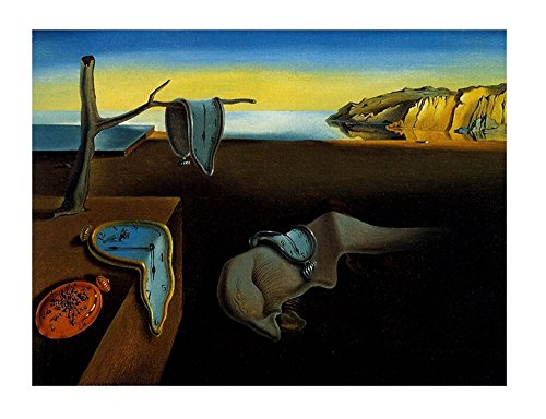 (Alonline Art - The Persistence Of Memory Melting Clock Salvador Dali VINYL STICKER DECAL 47