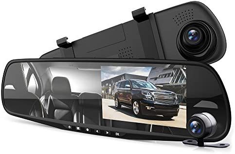 Pyle Dash Cam Rearview Mirror product image
