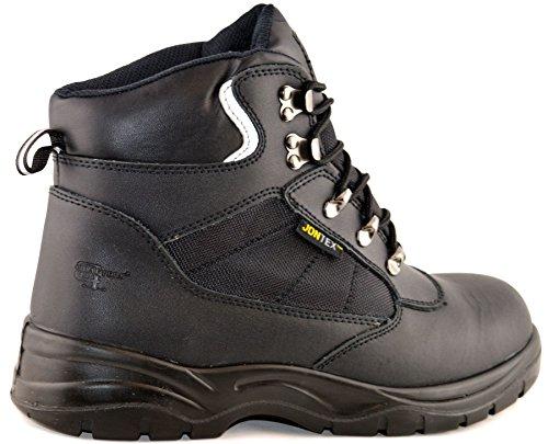 Grafters Grafters Dress Leather Black Mens Mens Uniform Shoes U8x5SwqTw