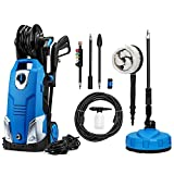 SUNGOLDPOWER Electric High Pressure Washer Max 2500PSI 1.85 GPM with (5) Nozzle Adapter with Hose Reel Patio Cleaner