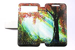 Universal Phone Cover Case for Lenovo A365e Case Tree