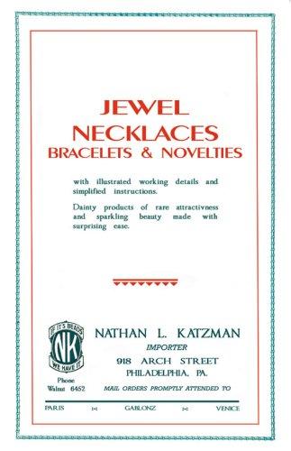 1929 Costume Jewelry (Katzman's Jewel Necklaces c.1929 - Depression Era Costume Jewelry Beading Designs in Color)