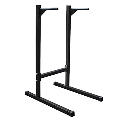 Amazon.com : smartxchoices heavy duty dip stand parallel bar, bicep