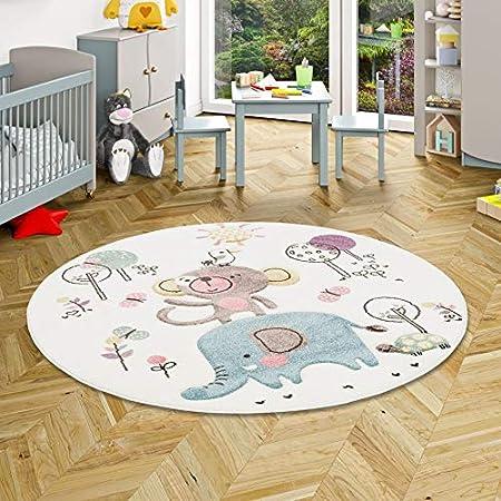 Children Carpet Unicorn Pastel Grey Light Pink Pergamon Maui Kids 5 Sizes