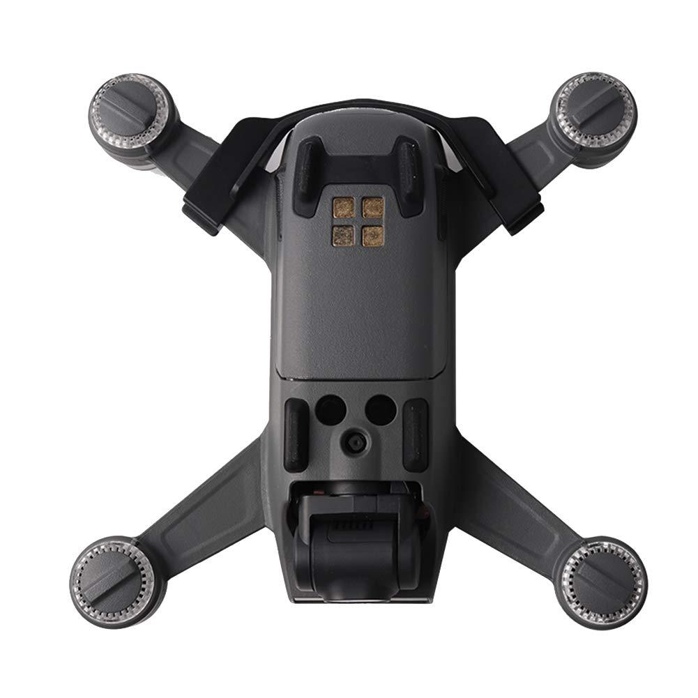 Grau Honey MoMo Batteriehalter f¨¹r DJI Spark Anti-Rutsch-Batteriehalterung mit Schnallenhalterung Schutzabdeckung f¨¹r DJI Spark Drone