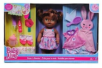 Baby Alive Dress N Slumber By Hasbro Amazon Co Uk Toys Games