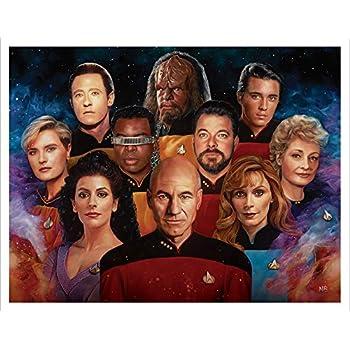Star Trek The Next Generation Cast Group Nicky Barkla Final Frontier Sci