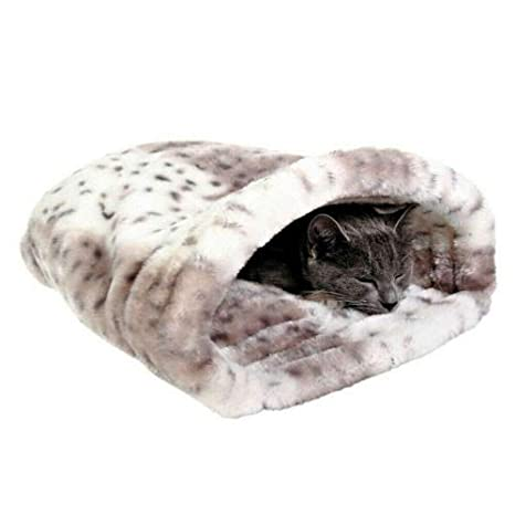 EQT-TEC - Cueva para Gatos, Saco de Dormir para Gatos, cojín ...