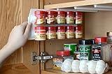 Kitchen Organizer Ideas SpiceStor Organizer Spice Rack 20 Clip, 10