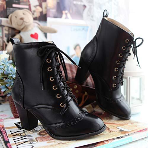 JYshoes Donna Classici Stivali Classici Donna Nero Nero JYshoes Stivali B6znwq54
