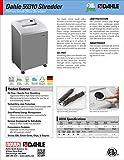Dahle 50310 Oil-Free Paper Shredder w/Jam