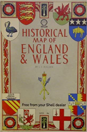 Historical Map of England and Wales L G Bullock Amazoncom Books