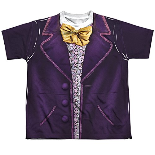 Youth: Willy Wonka And The Chocolate Factory- Wonka Costume Tee Kids T-Shirt Size S