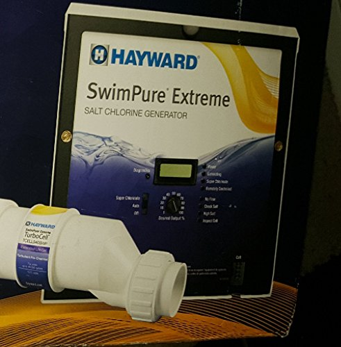 Hayward SwimPure Extreme Salt Chlorine Generator with TCE...